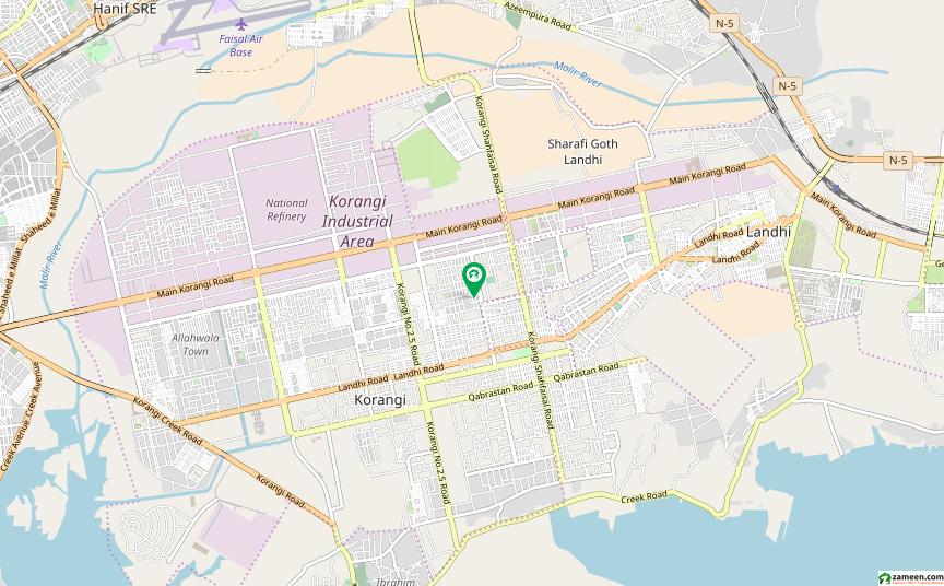 زمان ٹاؤن کورنگی کراچی میں 3 کمروں کا 12 مرلہ مکان 2.5 کروڑ میں برائے فروخت۔