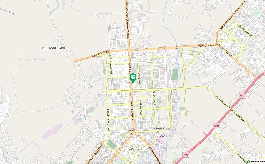 نارتھ کراچی - سیکٹر 5-کے نارتھ کراچی کراچی میں 2 کمروں کا 3 مرلہ فلیٹ 36 لاکھ میں برائے فروخت۔