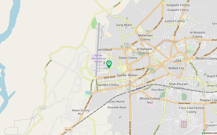 ائیرپورٹ روڈ ملتان میں 5 کمروں کا 7 مرلہ مکان 35 لاکھ میں برائے فروخت۔