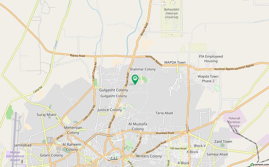 نشیمن کالونی ملتان میں 3 کمروں کا 6 مرلہ مکان 85 لاکھ میں برائے فروخت۔