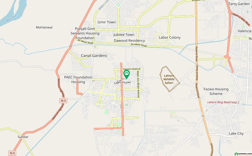بحریہ ٹاؤن علی بلاک بحریہ ٹاؤن سیکٹر B بحریہ ٹاؤن لاہور میں 8 مرلہ رہائشی پلاٹ 91 لاکھ میں برائے فروخت۔