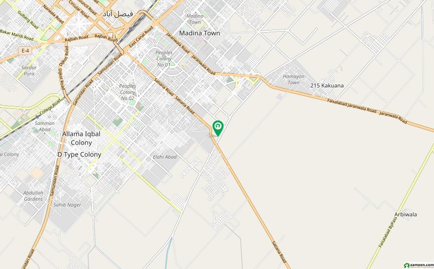 رحمان گارڈنز فیصل آباد میں 5 مرلہ مکان 75 لاکھ میں برائے فروخت۔
