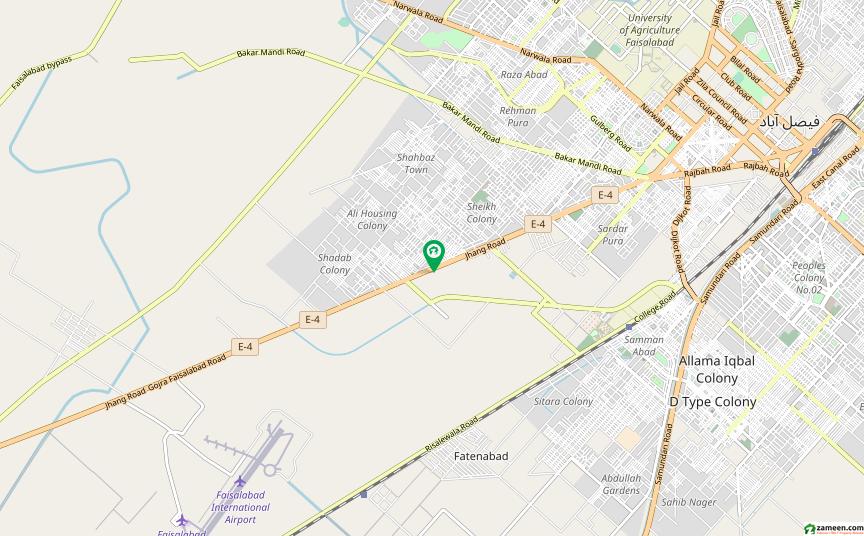 جھنگ روڈ فیصل آباد میں 1 کنال مکان 1.5 کروڑ میں برائے فروخت۔