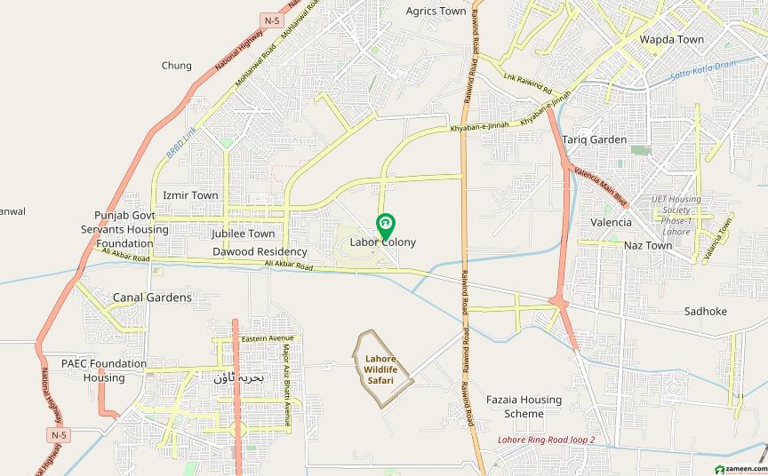لیبر کالونی لاہور میں 2 کمروں کا 4 مرلہ فلیٹ 15 لاکھ میں برائے فروخت۔