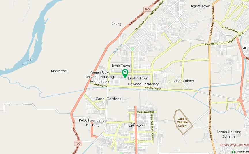 جوبلی ٹاؤن ۔ بلاک بی جوبلی ٹاؤن لاہور میں 10 مرلہ رہائشی پلاٹ 67 لاکھ میں برائے فروخت۔