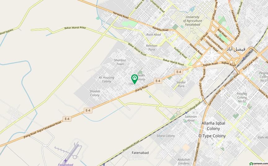 شاداب کالونی فیصل آباد میں 3 مرلہ مکان 25 ہزار میں کرایہ پر دستیاب ہے۔
