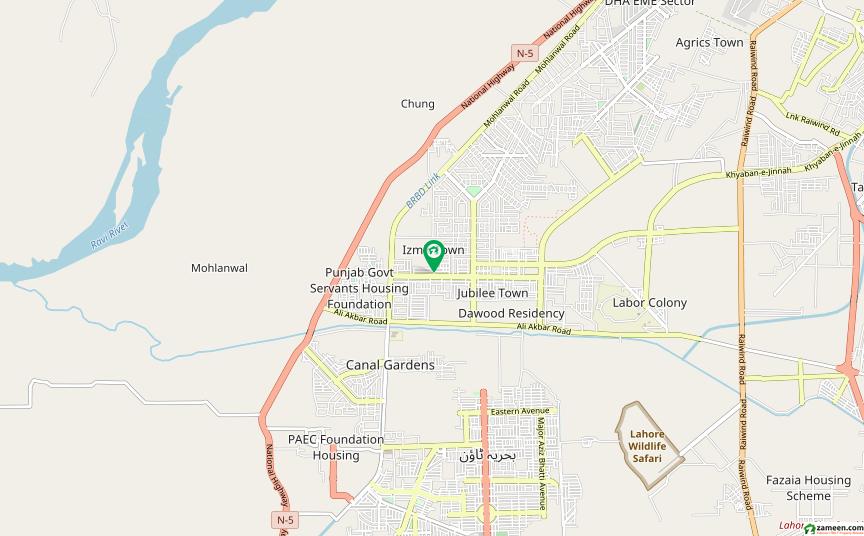 جوبلی ٹاؤن ۔ بلاک اے جوبلی ٹاؤن لاہور میں 10 مرلہ رہائشی پلاٹ 66 لاکھ میں برائے فروخت۔
