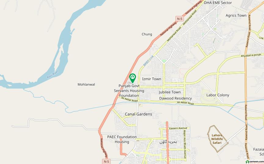 جوبلی ٹاؤن لاہور میں 5 مرلہ رہائشی پلاٹ 52 لاکھ میں برائے فروخت۔