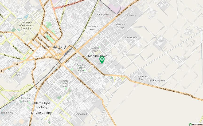 نعمت کالونی نمبر 1 فیصل آباد میں 5 مرلہ مکان 66 لاکھ میں برائے فروخت۔