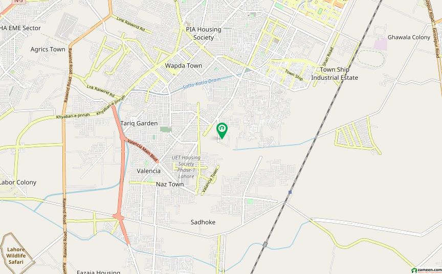 ایڈن ریزیڈینشیا ایڈن لاہور میں 5 مرلہ رہائشی پلاٹ 33 لاکھ میں برائے فروخت۔