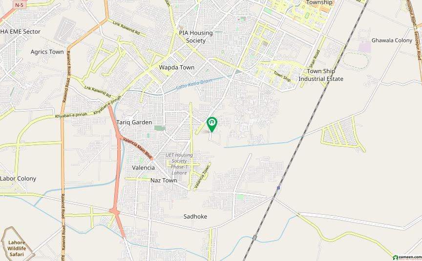 ایڈن بلیوارڈ ایڈن لاہور میں 5 مرلہ رہائشی پلاٹ 34 لاکھ میں برائے فروخت۔