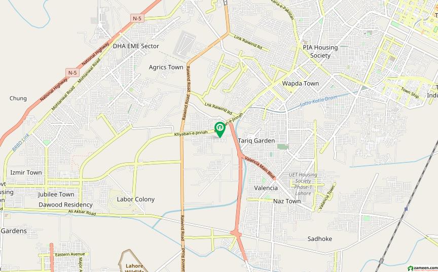 او پی ایف ہاؤسنگ سکیم - بلاک سی او پی ایف ہاؤسنگ سکیم لاہور میں 10 مرلہ رہائشی پلاٹ 90 لاکھ میں برائے فروخت۔