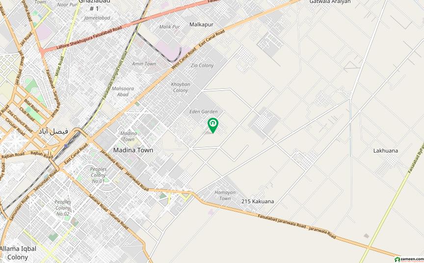 غالب سٹی فیصل آباد میں 5 مرلہ مکان 75 لاکھ میں برائے فروخت۔