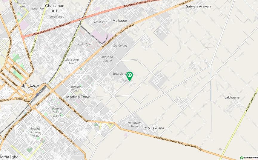 ایڈن ایگزیکیٹو ایڈن گارڈنز فیصل آباد میں 5 مرلہ مکان 1.4 کروڑ میں برائے فروخت۔