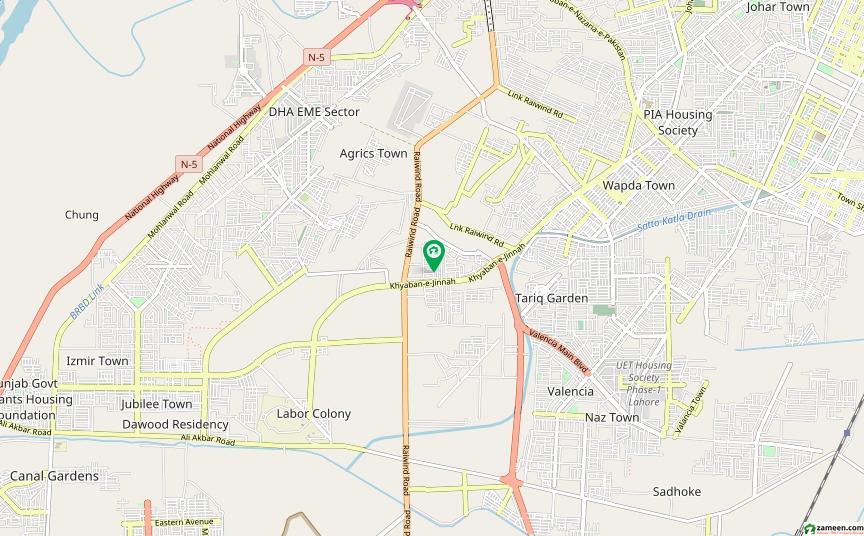 او پی ایف ہاؤسنگ سکیم - بلاک اے او پی ایف ہاؤسنگ سکیم لاہور میں 1 کنال رہائشی پلاٹ 1.55 کروڑ میں برائے فروخت۔
