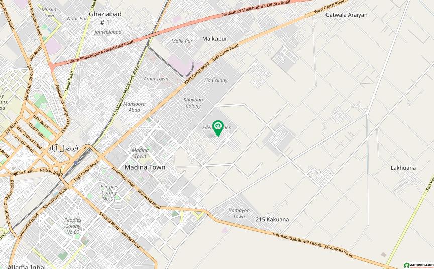 ایڈن گارڈنز فیصل آباد میں 4 کمروں کا 5 مرلہ مکان 90 لاکھ میں برائے فروخت۔