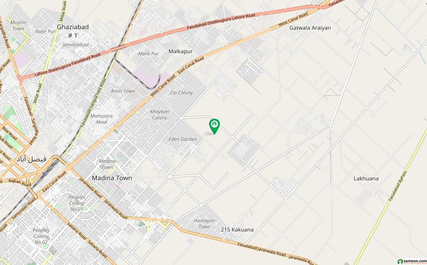 ماڈل سٹی ون کینال روڈ فیصل آباد میں 5 مرلہ مکان 85 لاکھ میں برائے فروخت۔