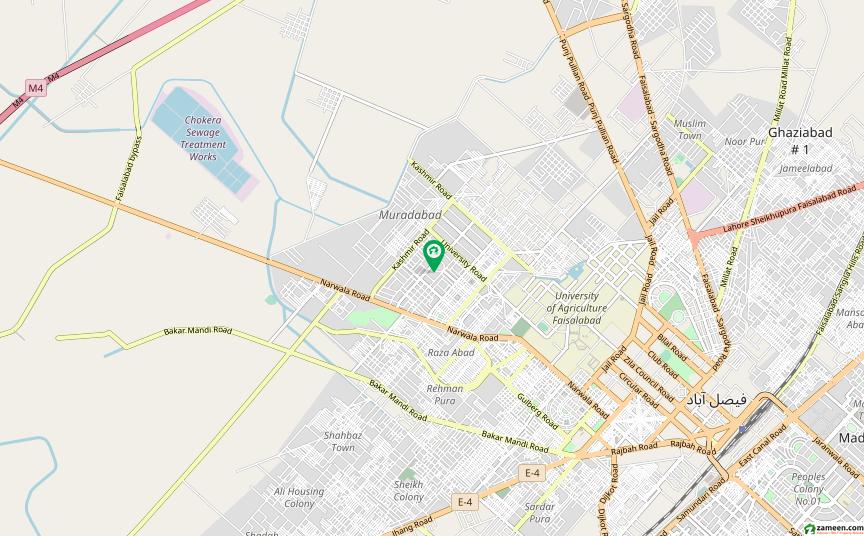 غلام محمد آباد فیصل آباد میں 4 کمروں کا 4 مرلہ مکان 55 لاکھ میں برائے فروخت۔