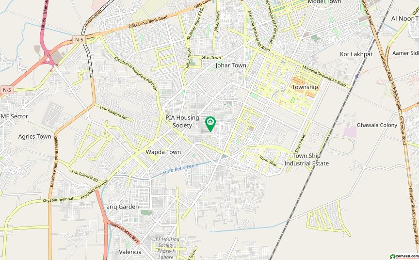 پنجاب گورنمنٹ ایمپلائیز سوسائٹی لاہور میں 2 کمروں کا 100 کنال زیریں پورشن 30 ہزار میں برائے فروخت۔