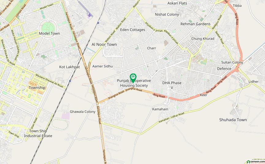 پنجاب کوآپریٹو ہاؤسنگ سوسائٹی لاہور میں 5 مرلہ مکان 95 لاکھ میں برائے فروخت۔