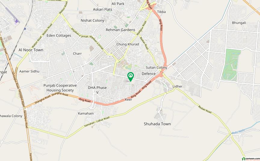 ڈی ایچ اے فیز 5 - ڈبل سی اے بلاک فیز 5 ڈیفنس (ڈی ایچ اے) لاہور میں 4 مرلہ کمرشل پلاٹ 10.5 کروڑ میں برائے فروخت۔