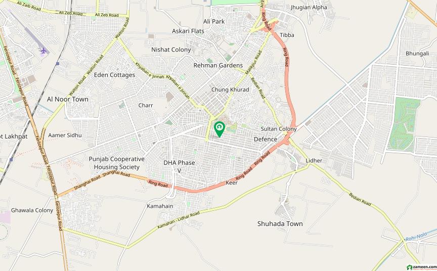 ڈی ایچ اے فیز 5 - بلاک ایف فیز 5 ڈیفنس (ڈی ایچ اے) لاہور میں 2 کنال رہائشی پلاٹ 11.1 کروڑ میں برائے فروخت۔