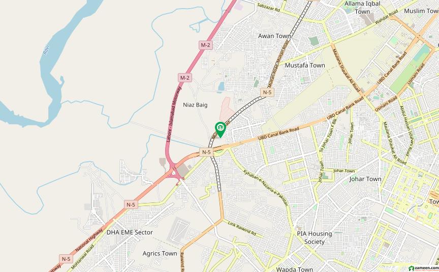 کنال برگ لاہور میں 5 کمروں کا 10 مرلہ مکان 1.7 کروڑ میں برائے فروخت۔
