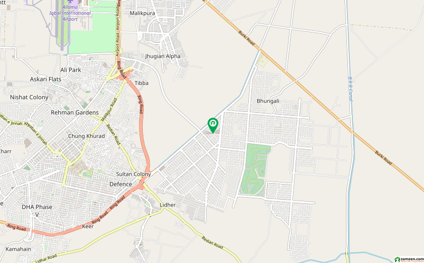 ڈی ایچ اے فیز 6 - بلاک جے فیز 6 ڈیفنس (ڈی ایچ اے) لاہور میں 2 کنال رہائشی پلاٹ 7.75 کروڑ میں برائے فروخت۔
