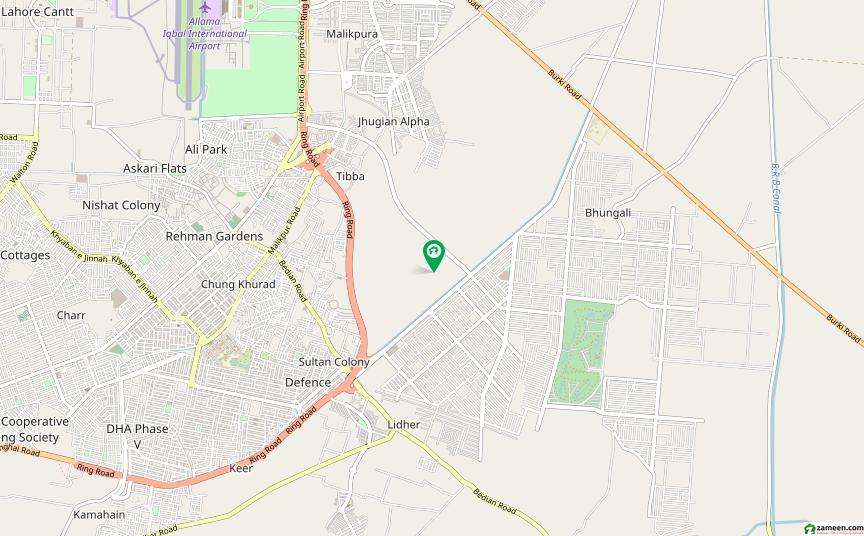 ڈی ایچ اے فیز 8 - بلاک ڈبلیو فیز 8 ڈیفنس (ڈی ایچ اے) لاہور میں 1.85 کنال رہائشی پلاٹ 5.3 کروڑ میں برائے فروخت۔