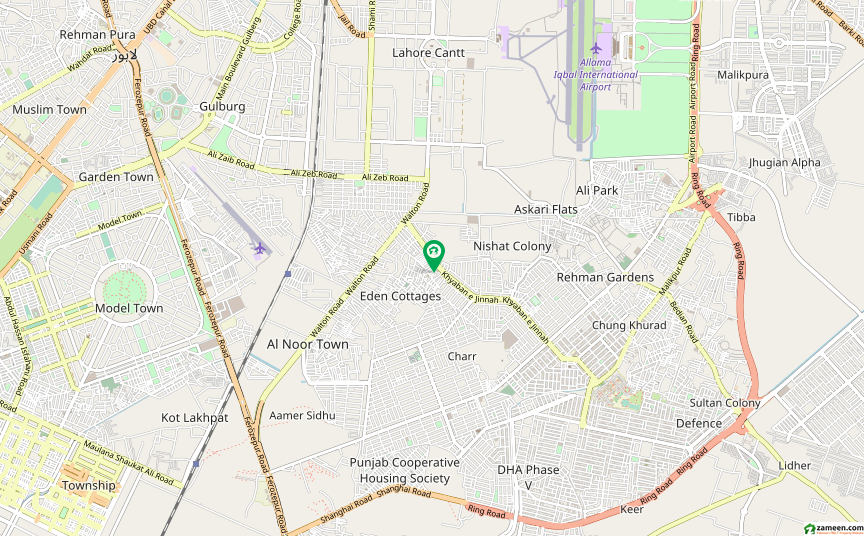 اقبال پارک کینٹ کینٹ لاہور میں 3 کمروں کا 5 مرلہ مکان 1.15 کروڑ میں برائے فروخت۔