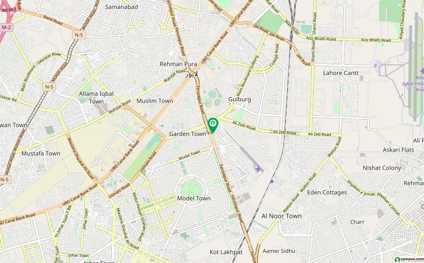 فیروزپور روڈ لاہور میں 27 کنال زرعی زمین 18.9 کروڑ میں برائے فروخت۔