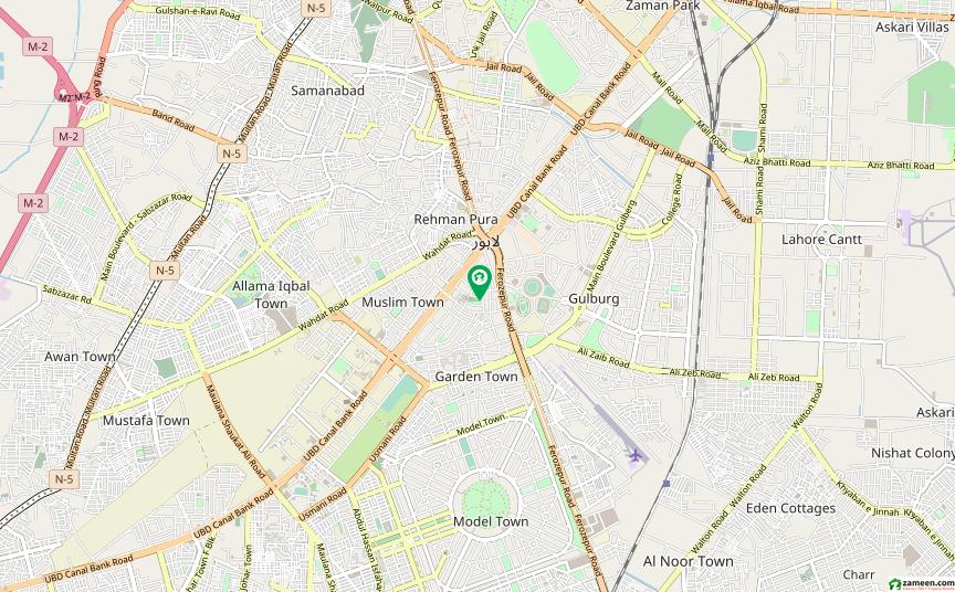 گارڈن ٹاؤن - ابو بھکر بلاک گارڈن ٹاؤن لاہور میں 5 کمروں کا 4 کنال مکان 27 کروڑ میں برائے فروخت۔
