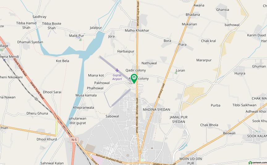 زیب کالونی گجرات میں 4 کمروں کا 5 مرلہ مکان 70 لاکھ میں برائے فروخت۔