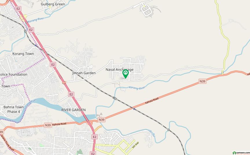 نیول اینکریج - بلاک ای نیول اینکریج اسلام آباد میں 6 کمروں کا 1 کنال مکان 4.25 کروڑ میں برائے فروخت۔