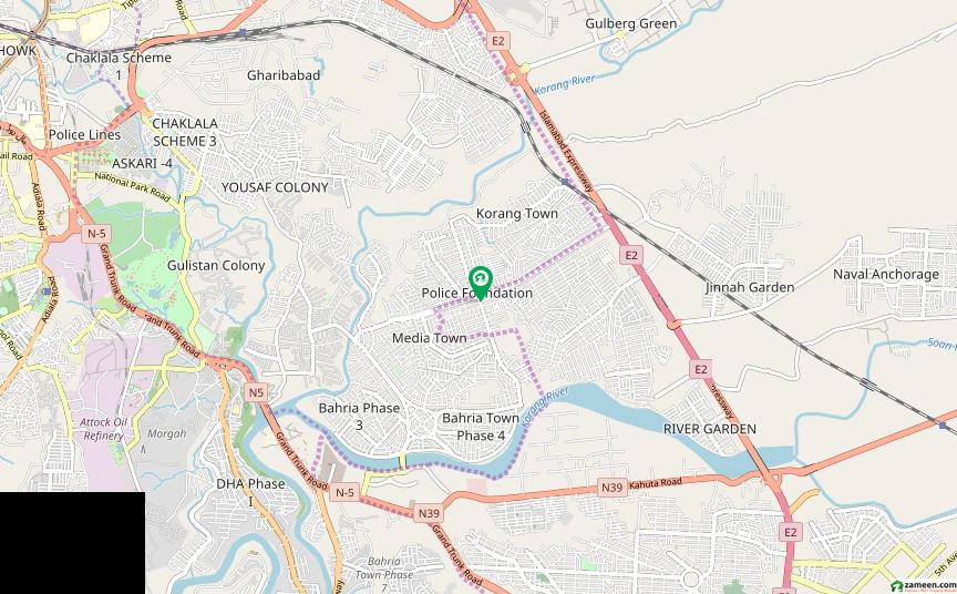 نیشنل پولیس فاؤنڈیشن اسلام آباد میں 2 کنال کمرشل پلاٹ 11.95 کروڑ میں برائے فروخت۔