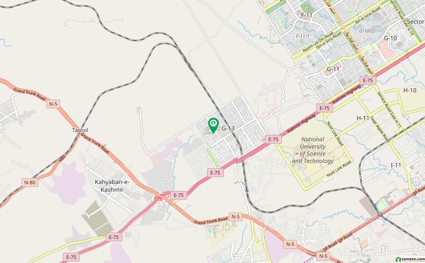 جی ۔ 13/2 جی ۔ 13 اسلام آباد میں 17 مرلہ کمرشل پلاٹ 9.5 کروڑ میں برائے فروخت۔