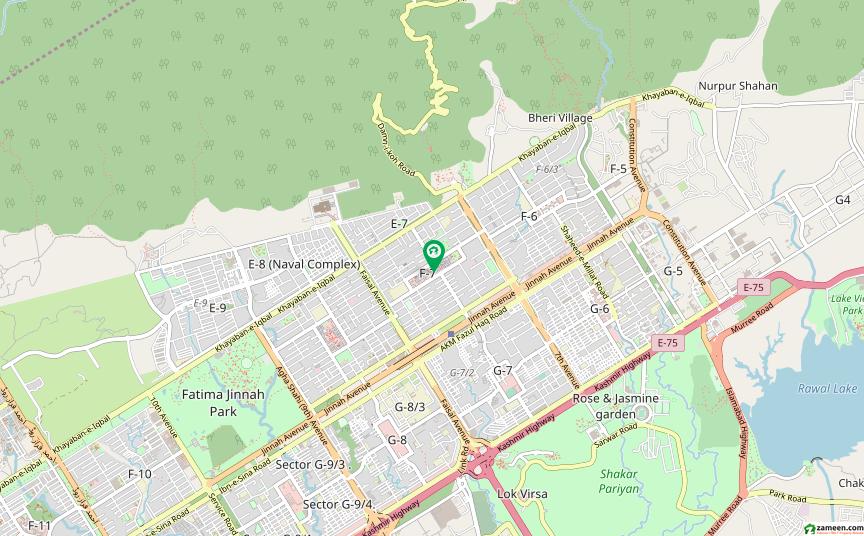 ایف ۔ 7 مرکز ایف ۔ 7 اسلام آباد میں 12 مرلہ کمرشل پلاٹ 8.5 کروڑ میں برائے فروخت۔