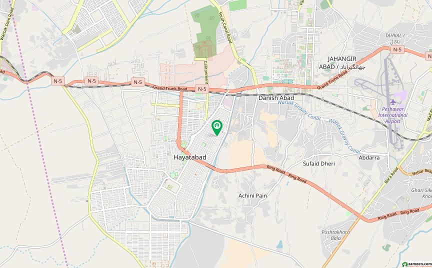 حیات آباد فیز 3 حیات آباد پشاور میں 5 کمروں کا 5 مرلہ مکان 1.35 کروڑ میں برائے فروخت۔