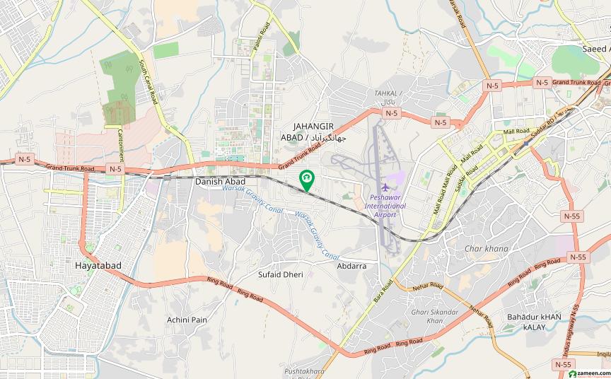 یونیورسٹی ٹاؤن پشاور میں 11 کمروں کا 3.75 کنال مکان 15 کروڑ میں برائے فروخت۔
