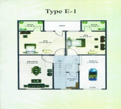 Zulfiqar Homes Type E1