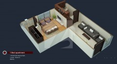 One Bed Room