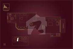 One Bedroom Apartment - Floor Plan
