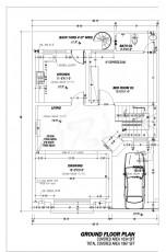 5 Marla Villa - Ground Floor Plan