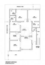 10 Marla Apartment - Floor Plan