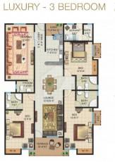 Luxury - Three Bedrooms Apartment