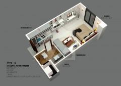 G - Studio Apartment