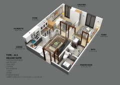 H-3 - Two Bedrooms Apartment
