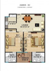 Amber - B2 - Two bedrooms