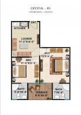 Crystal B5 - Two Bedrooms