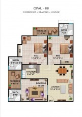Opal B - Two Bedrooms